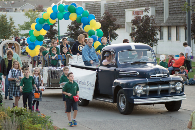 St Peters staff and students in community parade